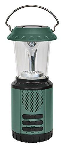 Bresser Solar-Dynamo LED Lampe und Ladegerät (mit integriertem UKW-Radio)