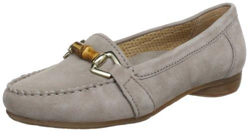 Gabor Shoes 64213 Damen Mokassins Grau (visone)