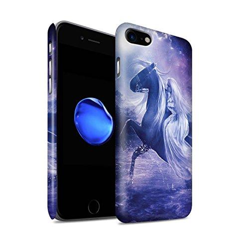 Officiel Elena Dudina Coque / Clipser Matte Etui pour Apple iPhone 7 / Reine des Glaces Design / Super Héroïne Collection Amazona
