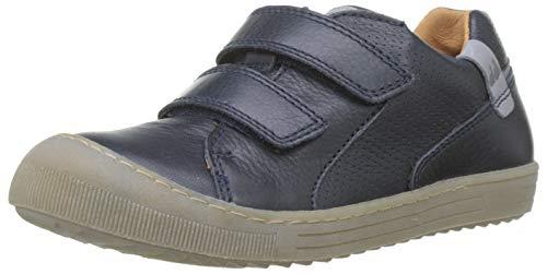 Froddo Jungen G3130125 Boys Shoe Sneaker, Blau (Dark Blue I17), 24 EU - Blue Denim Tennis Shoe