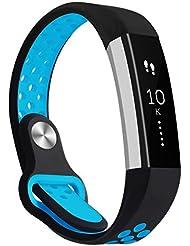 Bepack Fitbit Alta HR Correa,Banda de Reloj Deportivo de Moda Ajustable de Silicona Súper-suave Pulsera para Fitbit Alta and Alta Heart Rate