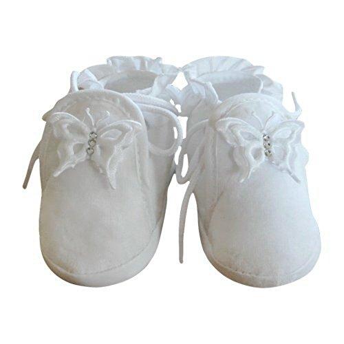 Festlicher Schuh für Taufe oder Hochzeit - Taufschuhe für Baby Babies Mädchen Kinder, in verschiedenen Größen, TP11 Gr. 16-19 Tp04