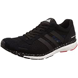 adidas Adizero Adios 3 m, Zapatillas de Running para Hombre, Rojo (Roalre/Negbás/Azubri 0), 44 2/3 EU