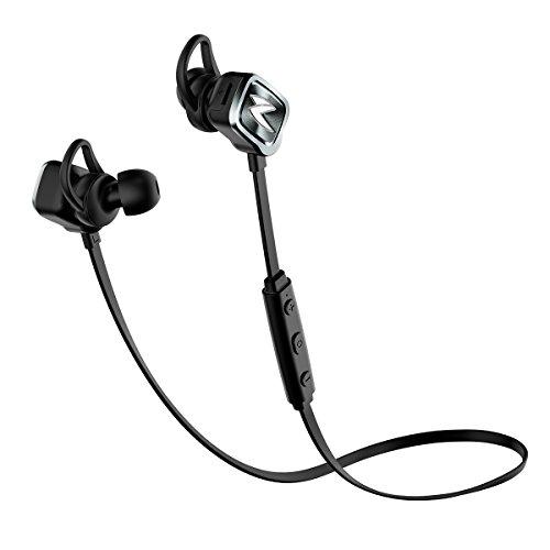 Freego - Auricolari wireless Bluetooth per sport, cuffie stereo, auricolari per correre con microfono per iPhone, LG, Sony, Huawei e altri smartphone (Bluetooth 4.1)