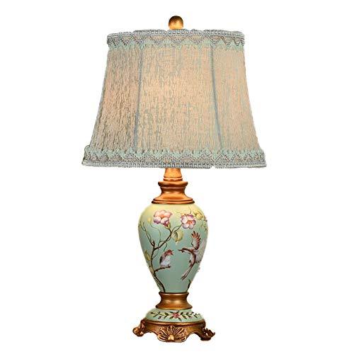 Lámparas De Mesa Creatividad Americana Regulable Protección Ocular Art Deco Metal Dormitorio...