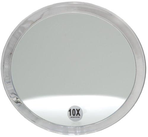 Fantasia Miroir en acrylique avec ventouse et grossissement (10X) 10x 23 cm