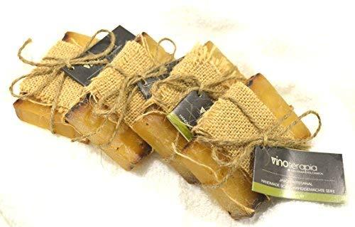 Hausgemachte Seife aus vulkanischer Malvasiatraube 100gr x 4 Stücke
