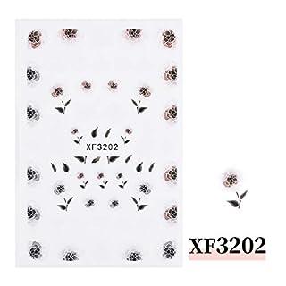 Hunpta@ nail stickers,mirror nail varnish Nail Ornaments New Nail Stickers Nail Art DIY Decoration Metal Nail Stickers