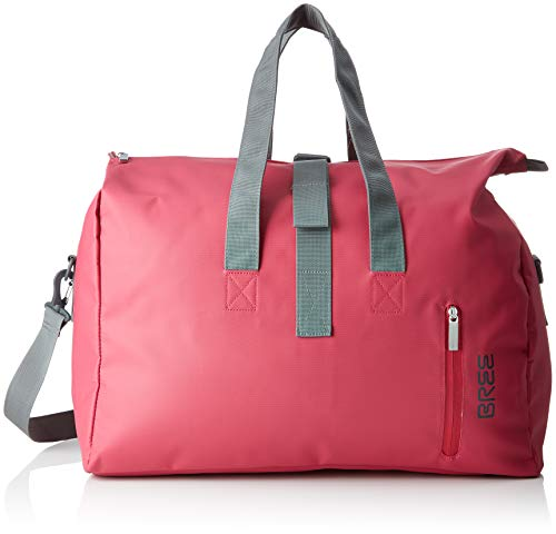 BREE Collection Damen Punch 723, Jazzy, Weekender S S19 Umhängetasche, Pink, 25x44x50 cm
