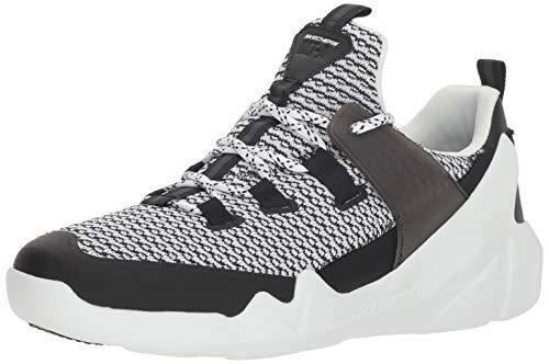 Skechers Men\'s D\'Lites DLT-A Low Top Sneaker Shoes White Black 9.5
