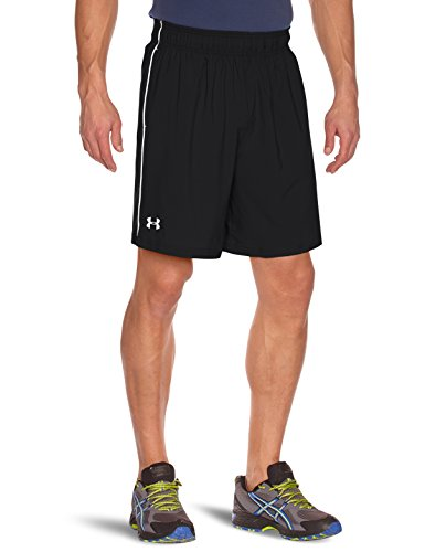 Under Armour Men's HeatGear Mirage 8-inch Shorts - Black/White, Large