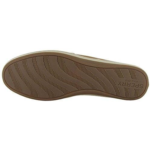 Sperry Top-Sider  Firefish Animal Leather Fabric, Damen Sneaker beige beige Sahara