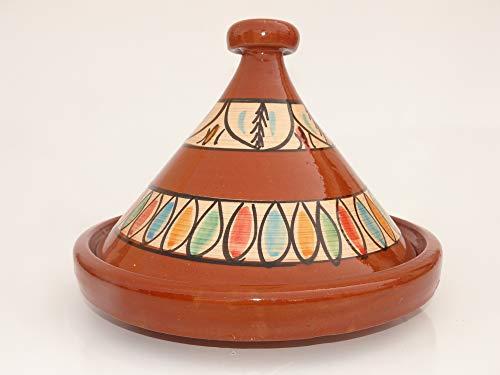 Marokkanische Tajine zum Kochen Ø 35 cm für 3-5 Personen – 905118-000922