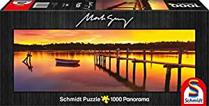 Schmidt Spiele Merimbula - New South Wales, Australia 1000pieza(s) - Rompecabezas (Australia, Jigsaw Puzzle, Landscape (Scenery), Niño/niña, 12 año(s), 948 mm, 327 mm)