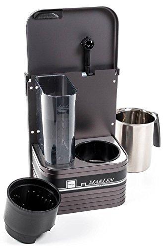 Preisvergleich Produktbild Kaffeemaschine für 6 Tassen zur Wandmontage, Alugehäuse, Timer, 24V 500W, 21A