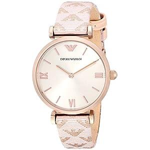 Emporio Armani Reloj analógico de moda para mujer