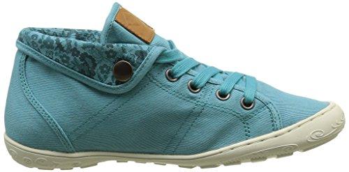 PLDM by Palladium Gaetane Twl, Sneakers Hautes Femme Bleu (C54 Turquoise/Flower)