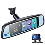 20,3cm IPS 4G Auto Rückspiegel DVR ADAS GPS navigetor FHD 1080P Video Kamera Recorder Bluetooth Wifi 16G Android Dashcam