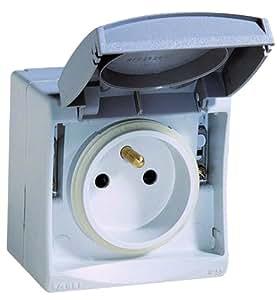 Schneider Electric SC5ENN36630 Prise de courant 2P+T étanche Mureva IP55 230 V