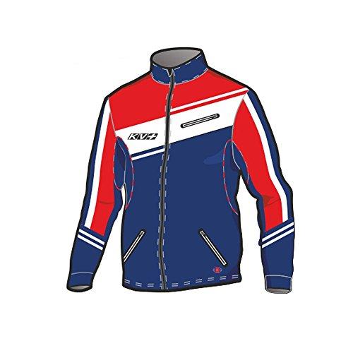 KV+ Race Jacket - navy/red/white