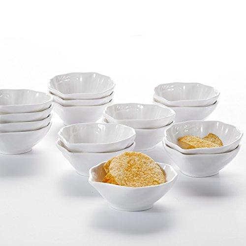 MALACASA, Serie Ramekin.Dish, 32er Set SUPER Mini 3,5