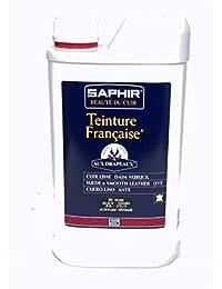 ZAFIRO Canadiense Regeneración Crema para cuero - Negro, 75 ml