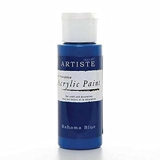 docrafts Artiste High Quality Acrylic Paint (2oz) - Bahama Blue
