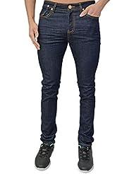 Homme Design Aztec Super Jeans Skinny Extensible Fin Jeans Bas Pantalon 4 Lavages