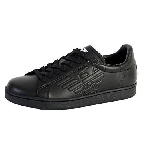 ARMANI EA7 di scarpe uomo nero - nero, 44