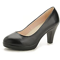 Bequeme Plateau Pumps   Moderne Damen High Heels   Stiletto Schuhe