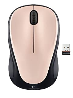 Logitech Wireless Mouse M235 Souris sans-fil Suivi optique Rose-Ivoire (B0083QM6WS) | Amazon price tracker / tracking, Amazon price history charts, Amazon price watches, Amazon price drop alerts
