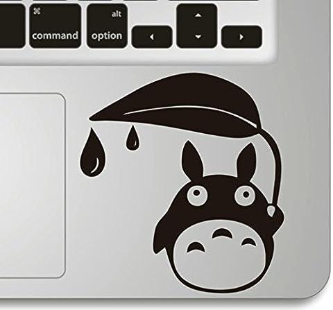 Vati Blätter Removable Shelter Mein Nachbar Totoro Humor Teilhandmade Art Haut kühler Entwurf Vinylabziehbild Aufkleber für Trackpad Tastatur des Apple Macbook Pro Air Mac Laptop