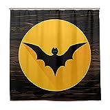 SKYDA Rideaux de Douche imperméable Batman Rideau de Douche en Polyester 183 x 183...