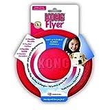 KONG - Flyer - Frisbee de caucho resistente - Raza grande