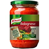 Knorr - Bolognese - Salsa boloñesa con aceite de oliva virgen extra - 400 g - [Pack de 6]