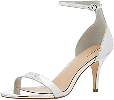 Aldo Zenavia, Women Heels Sandals, Silver (Silver / 81), 3 UK (36 EU)