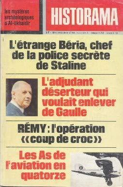 L'étrange Béria, chef de la police secrète de Staline. L'opération