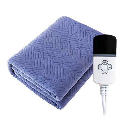 HONG Heizdecke, Klempnerarbeit Heizdecke Dual Control Wasserdichte Temperatureinstellung Timing Wasserzyklus Haushalt Elektrische Warming Decke,Blue,180 * 200cm - Dual-heizdecke