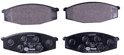 HELLA PAGID 8DB 355 007-291 Kit pastiglie freno, Freno a disco, Assale anterio