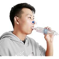 LLQ Espirómetro, Estudiante Espirometría Ejercicio Instrumento de rehabilitación de función pulmonar postoperatoria para Ancianos
