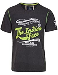 THE INDIAN FACE Camiseta Manga Corta Gris Oscuro XL