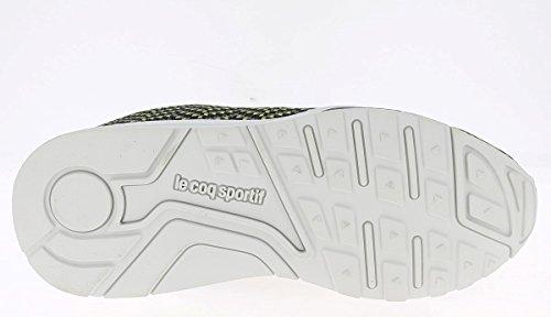 Le Coq Sportif Herren Titanium Jacquard LCS R950 Sneakers titanium/safety yellow