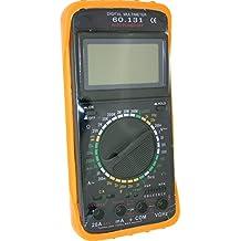 ElectroDH - 60.131 Multimetro Digital Con Medidor Frecuencia
