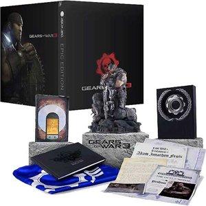 Preisvergleich Produktbild Gears of War 3 - EPIC EDITION [ 18 Pegi AT-UNCUT Version ]