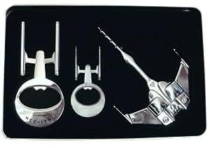 STAR TREK - Pack décapsuleur, tire-bouchon & porte-clés