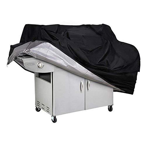 Couvercle de gril à gaz Couvercle de gril de barbecue Résistant à l'eau, étanche à la poussière, à la poussière et aux déchirures Couvercle de protection du gril résistant aux UV (150x100x125cm)