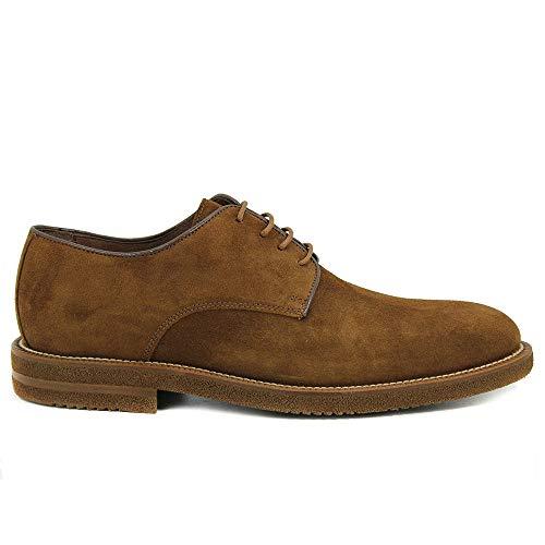 Zapatos Hombre, Color marrón, Marca SERGIO SERRANO