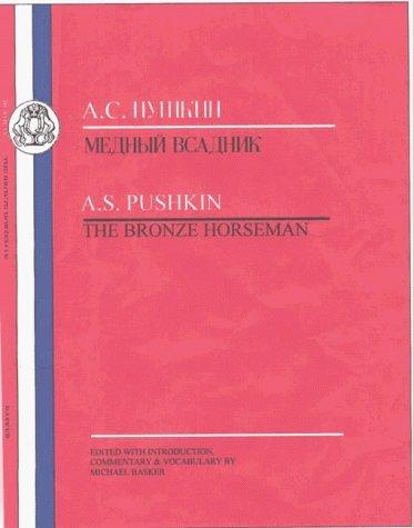 Portada del libro Pushkin: Bronze Horseman (BCP Russian Texts) by Aleksandr Sergeevich Pushkin (1-Apr-2013) Paperback