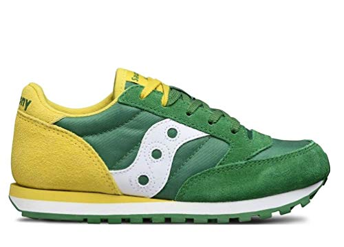 Saucony Jazz Original Green/Yellow, SK260998, Stringata, 36.5 EU
