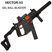 GELRIZTY VECTOR-V2 Gel Ball Blaster - Electric Gel Soil Water Crystal Beads Toy Blaster - Safe and Harmless Toy Gun - NYLON PLASTIC SHELL